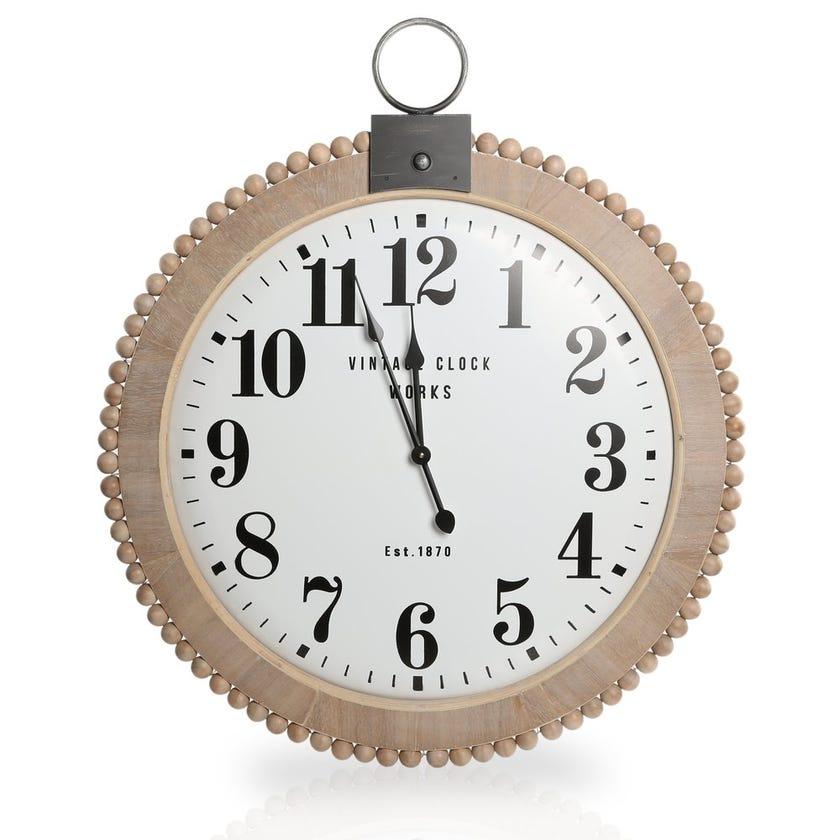 Round Hanging Clock – 92 x 79 cms