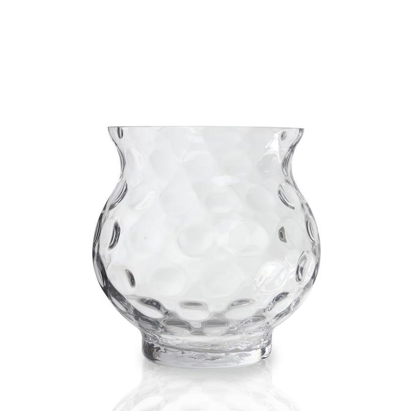 Papyrus Glass Vase, 18cm x 18cm