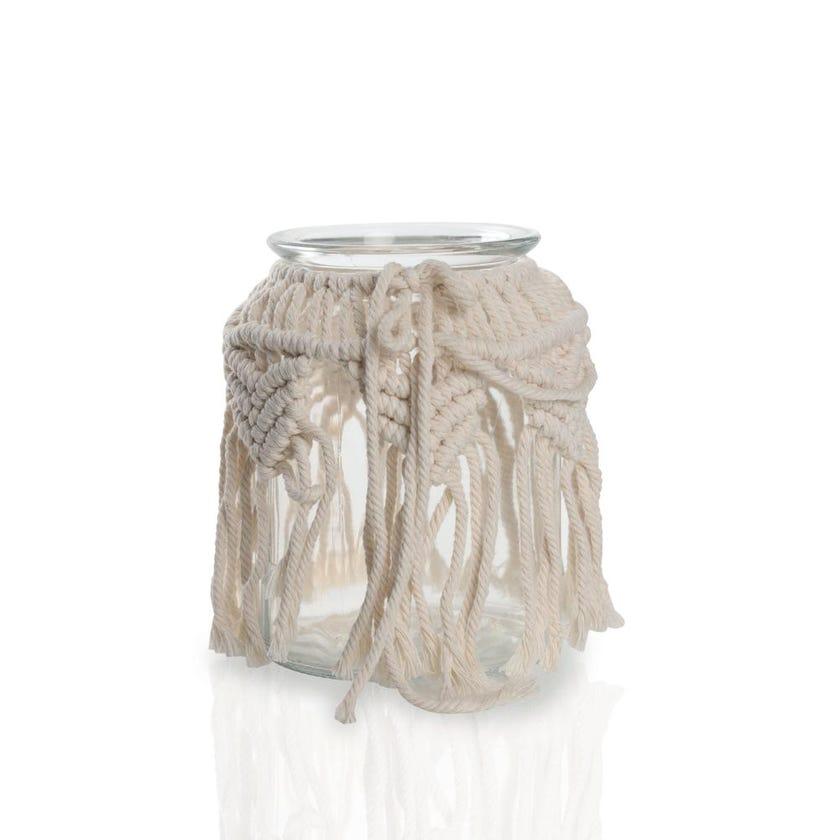 Yarn Glass Vase, Small