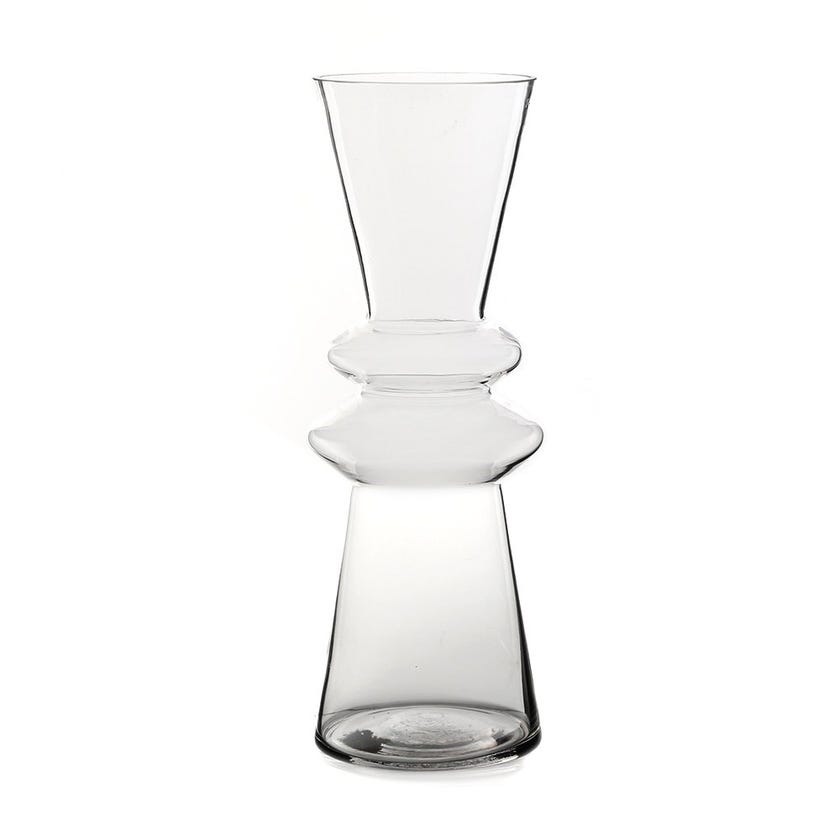 Pristine Glass Vase, Clear – Large