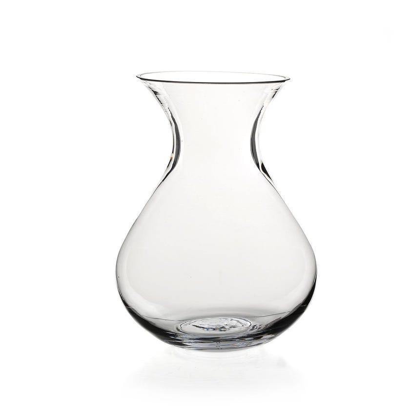 Delray Glass Vase, Clear – Medium