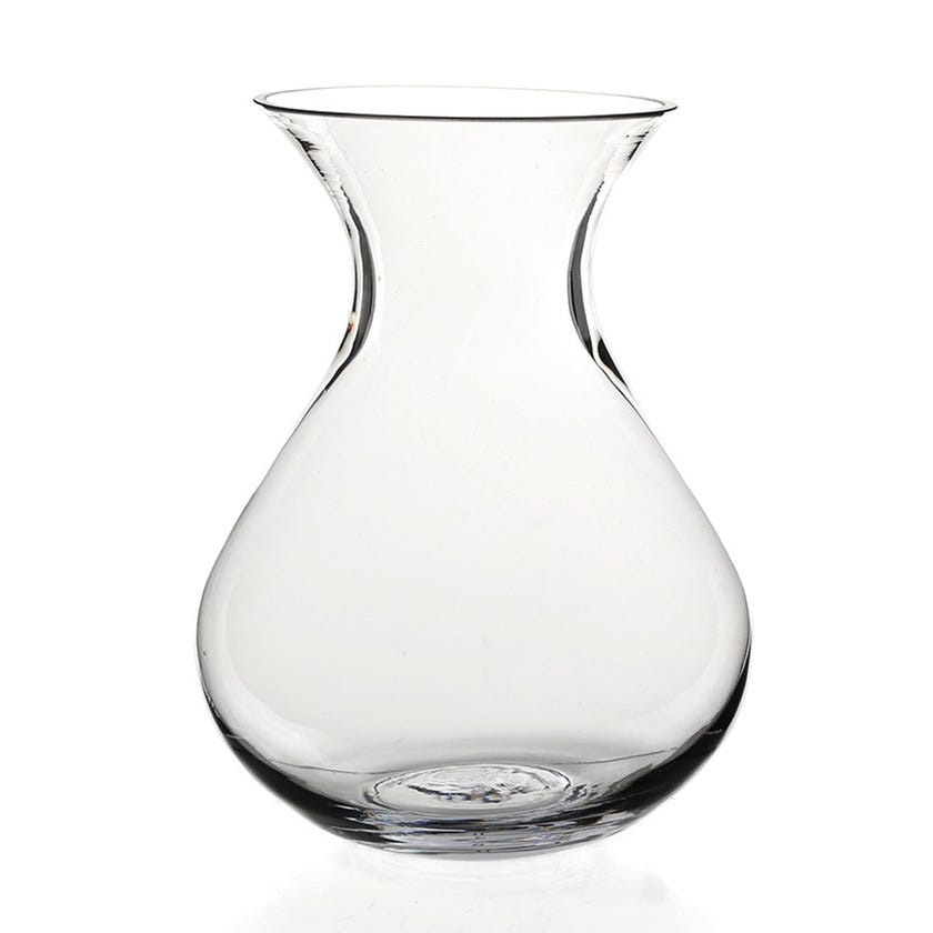 Delray Glass Vase, Clear – Large
