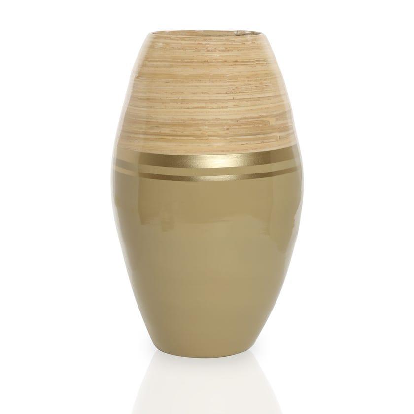 Amri Bamboo Vase, Multicolour – 42 cms