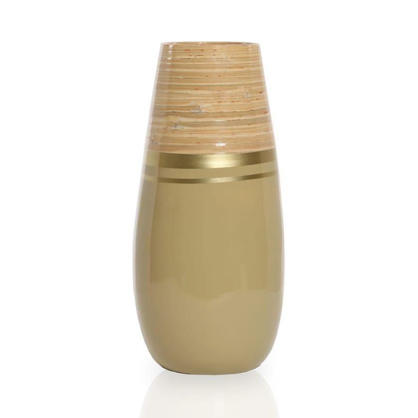 Amri Bamboo Vase, Multicolour – 34 cms