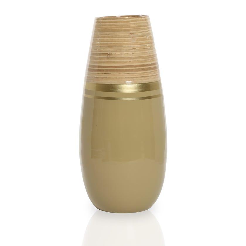 Amri Bamboo Vase, Multicolour – 40 cms