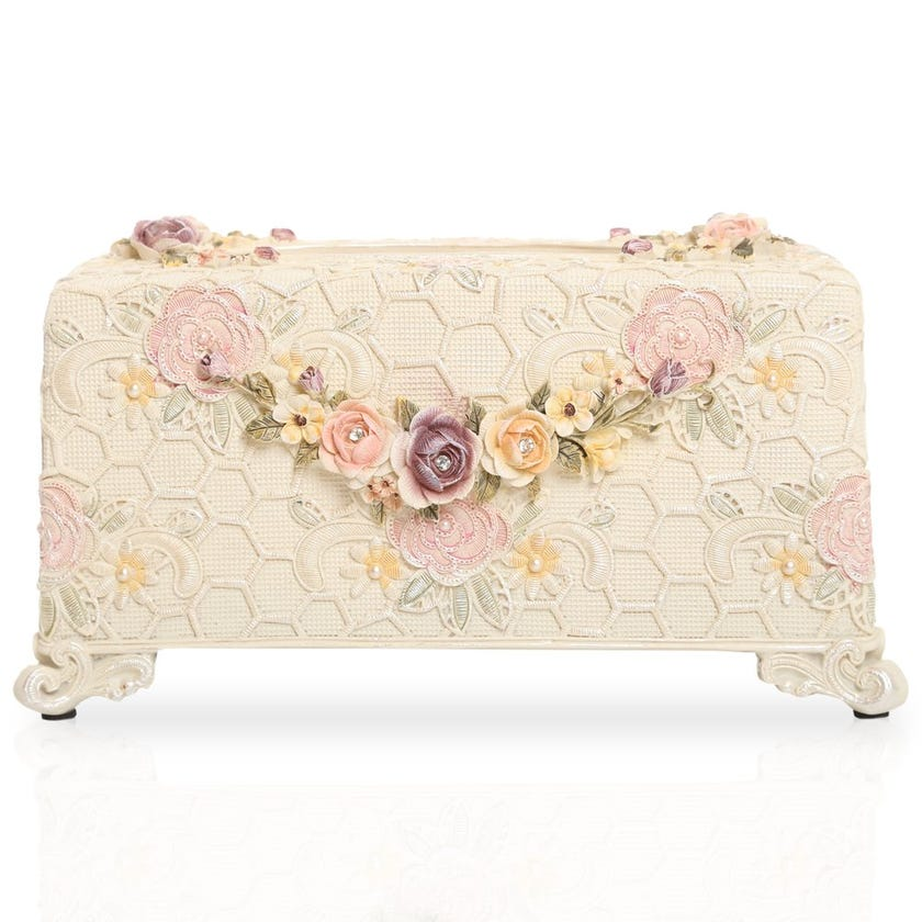 Amore Tissue Box, Multicolour
