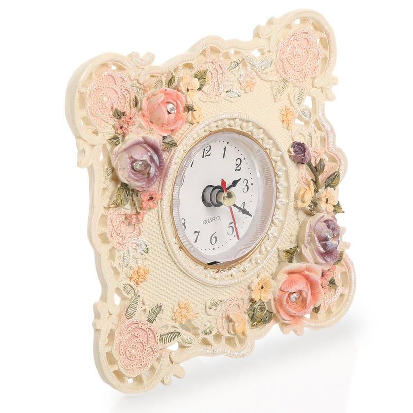 Amore Table Clock, Multicolour