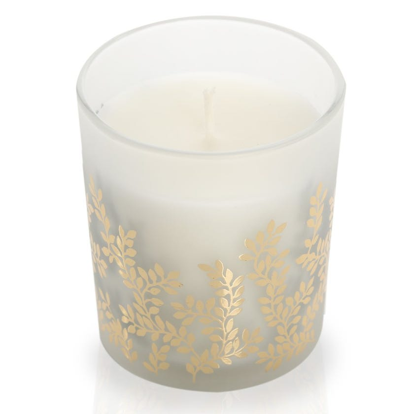 Bergamot & Lime Scented Candle in Glass – 10.2x8.4 cms