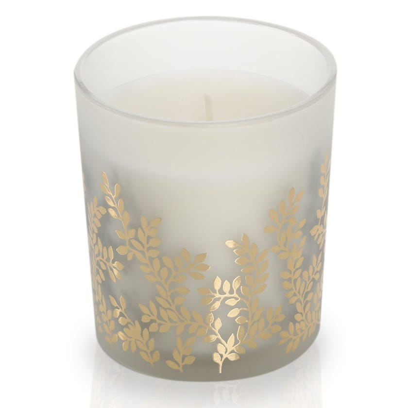 Bay & Cassis Scented Candle in Glass – 10.2x8.4 cms