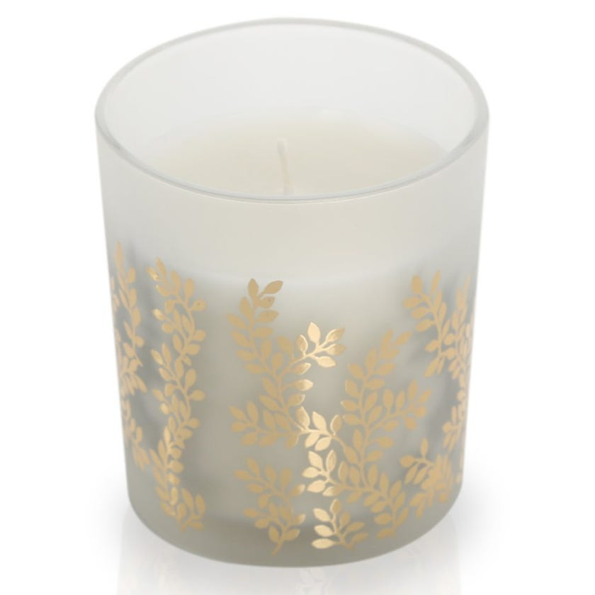 Rose Scented Candle in Glass – 10.2x8.4 cms