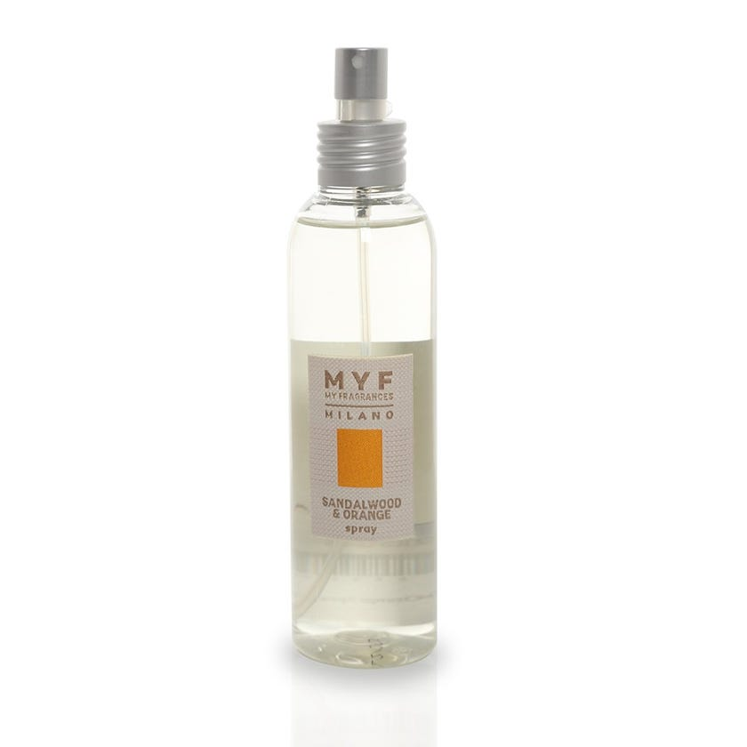 Sandalwood & Orange Spray, Transparent – 150 ml