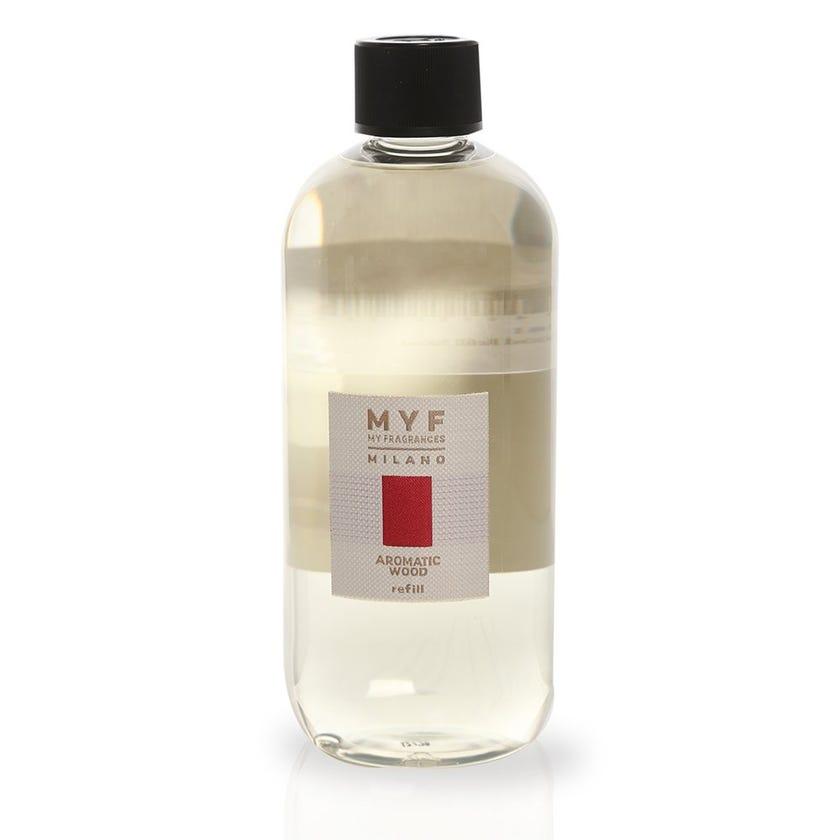 Aromatic Wood Diffuser Refill, Transparent – 500 ml