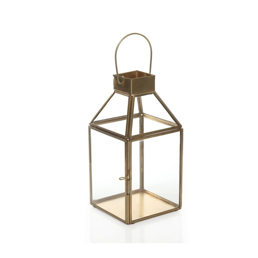 Orion Outdoor Candle Lantern, Small