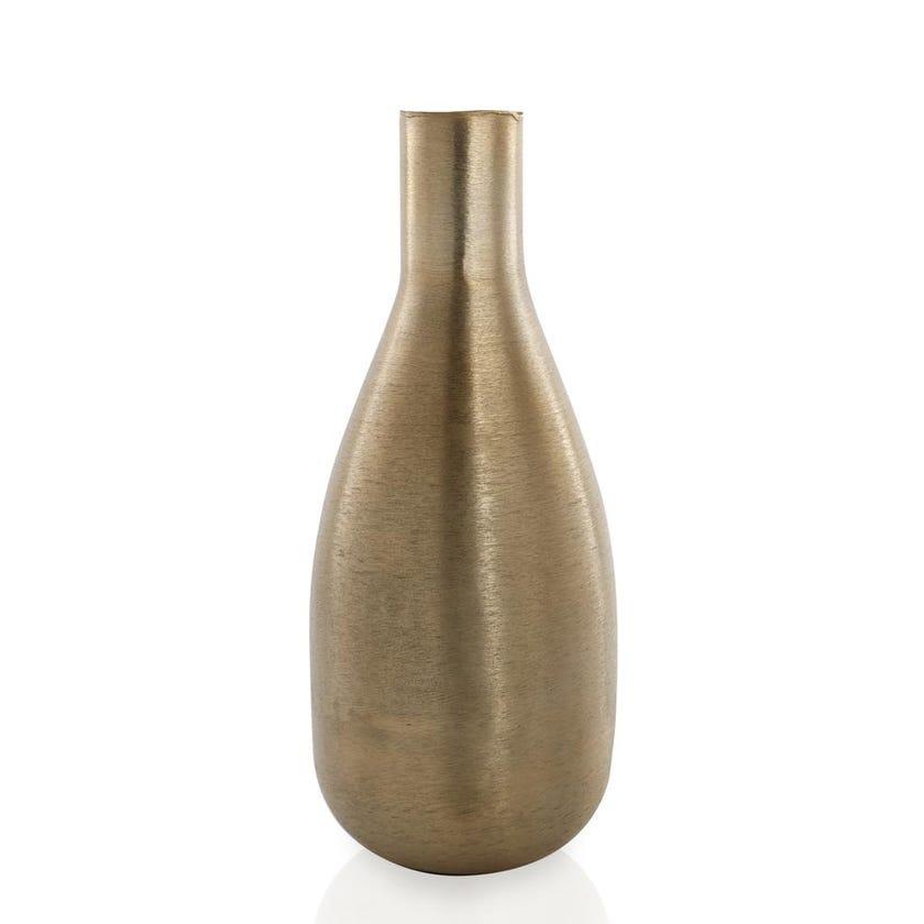 Neck Pod Metal Vase - Large