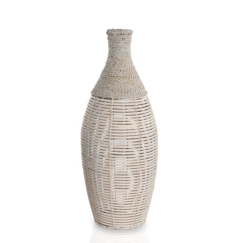 Rattan Ornament Vase, Medium