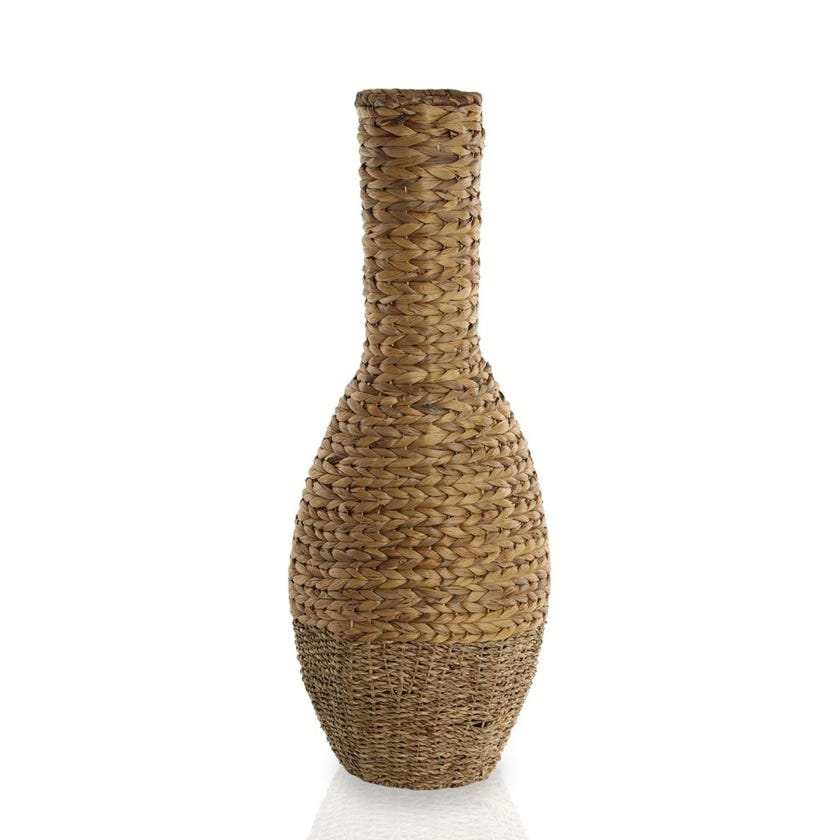 Seagrass Hyacinth Vase, Tall - Large