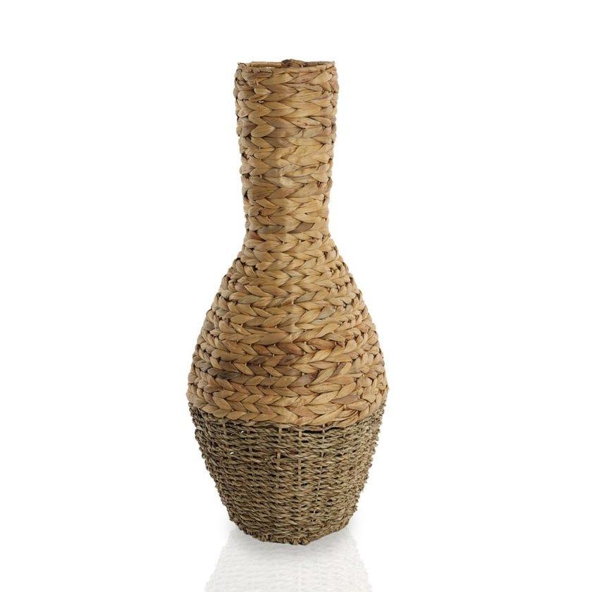 Seagrass Hyacinth Vase, Tall - Medium