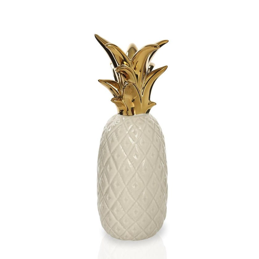 Dolomite Pineapple Candle Holder Figurine- Large