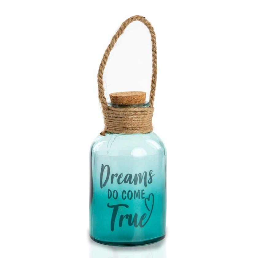 Dreams Green LED Bottle Décor Accessory (9 x 16.5 cms)