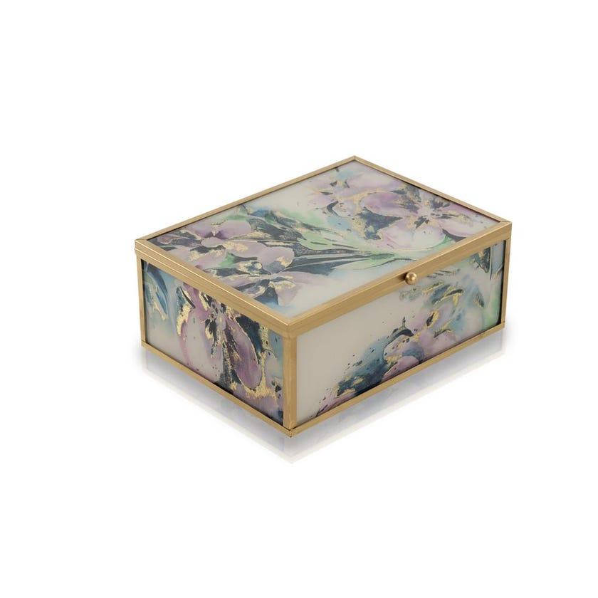 Aphrodite Decorative Glass Box