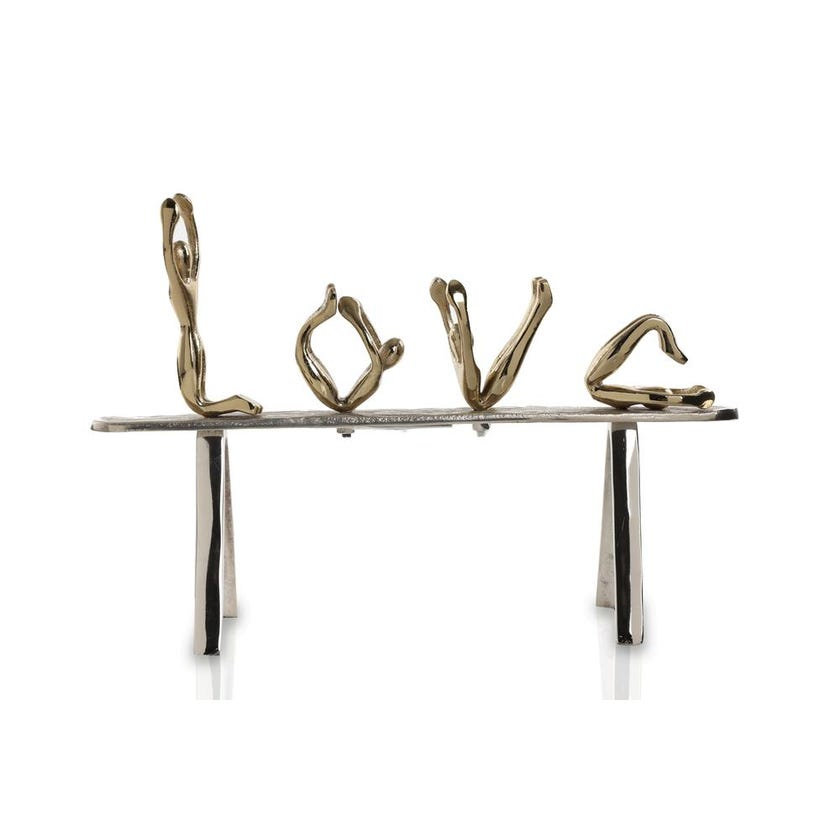 Love on Base - Gold and Nickel