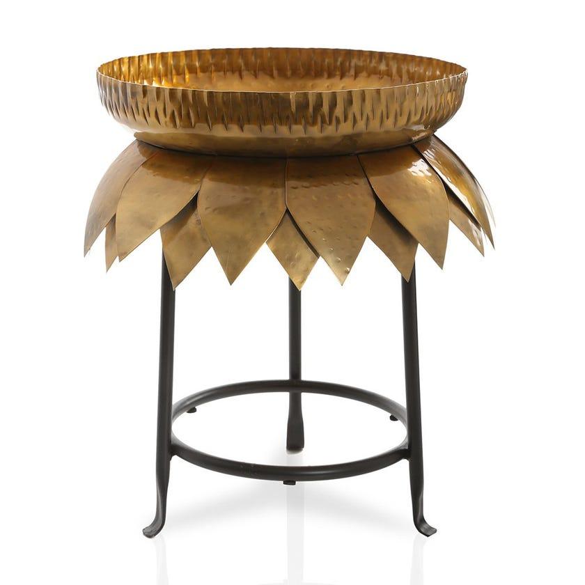 Urli Decorative Bowl, Gold & Black - Medium