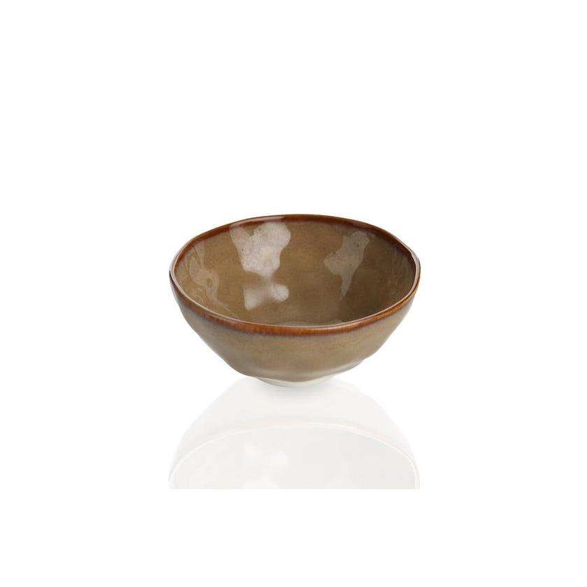 Interiors Porcelain Bowl - Terracotta