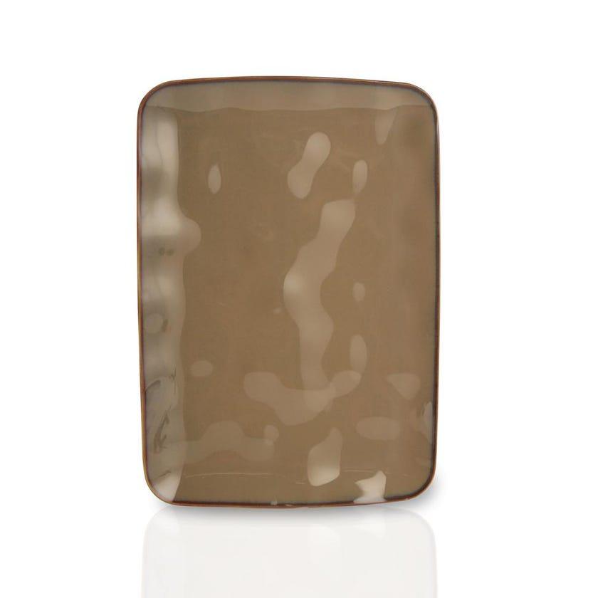 Interiors Porcelain Platter - Terracotta