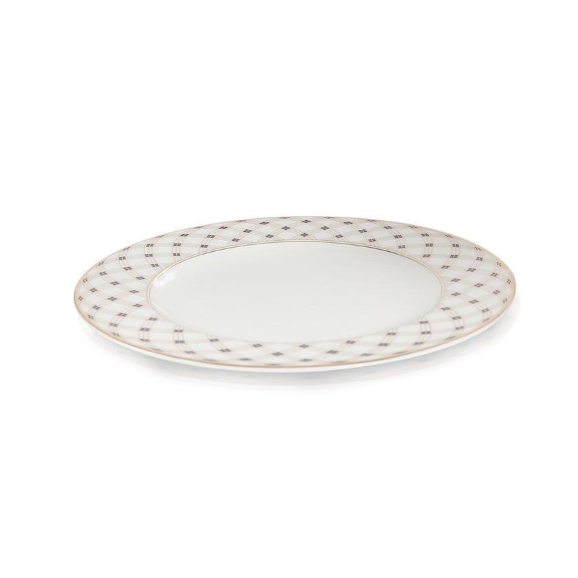 Durable Porcelain Charger Plate - 31 cms