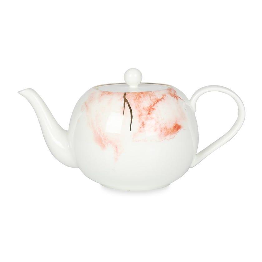 Coupe Durable Porcelain Teapot - 1200 ml