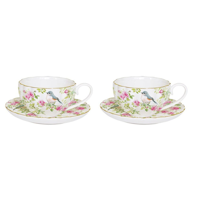 Spring Time Coffee Cup Set