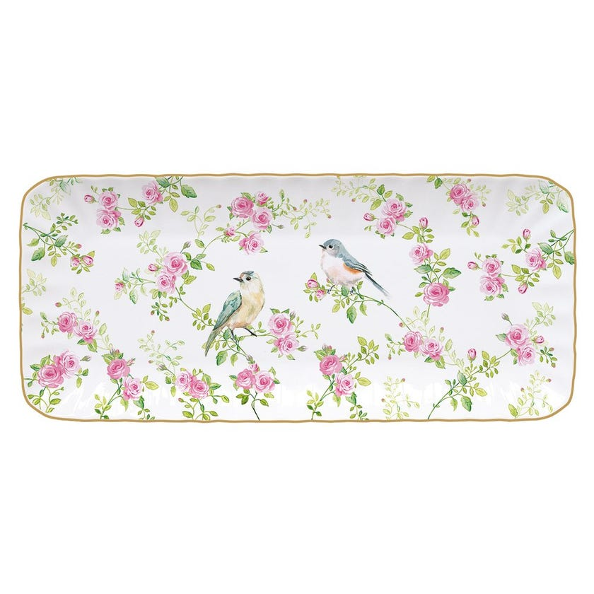 Spring Time Rectangle Tray