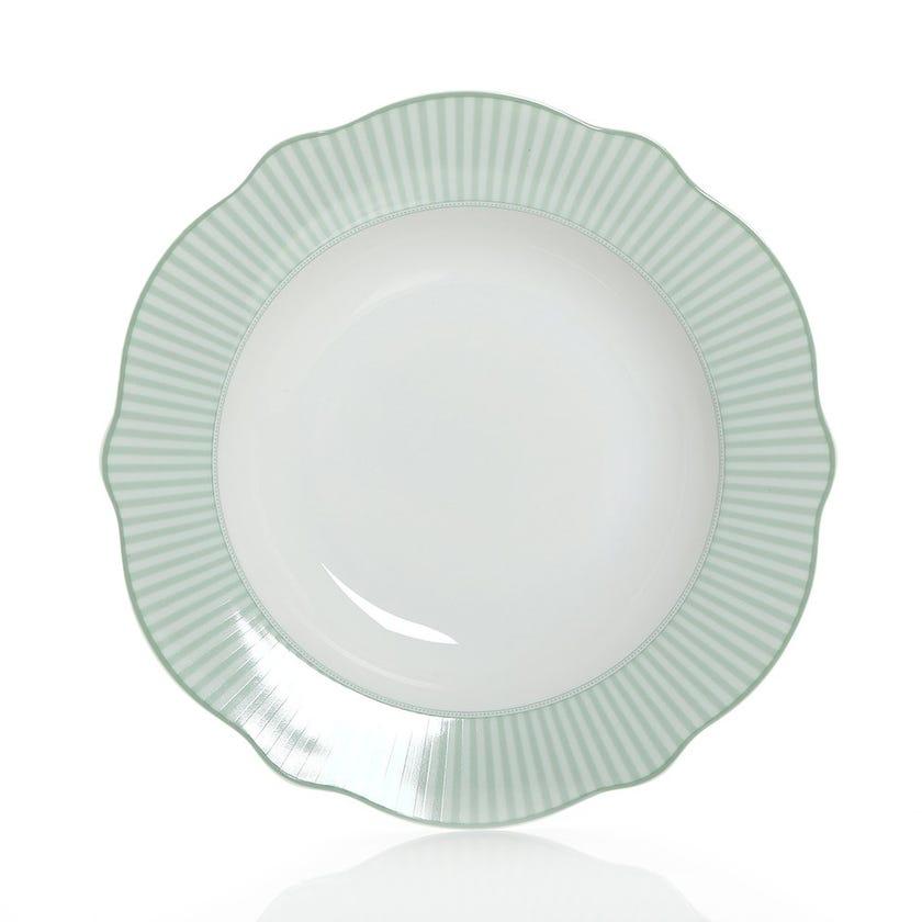 Floraison Soup Plate, Multicolour – 23 cms