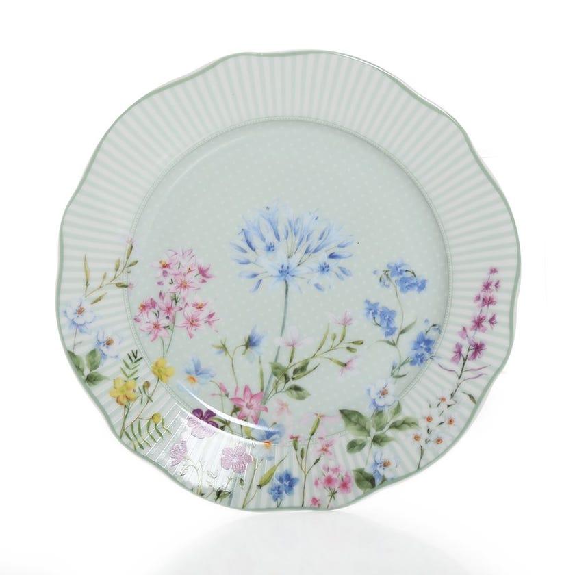 Floraison Side Plate, Multicolour – 20 cms