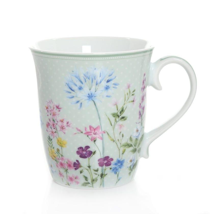 Floraison Pastel Mug, Multicolour – 275ml