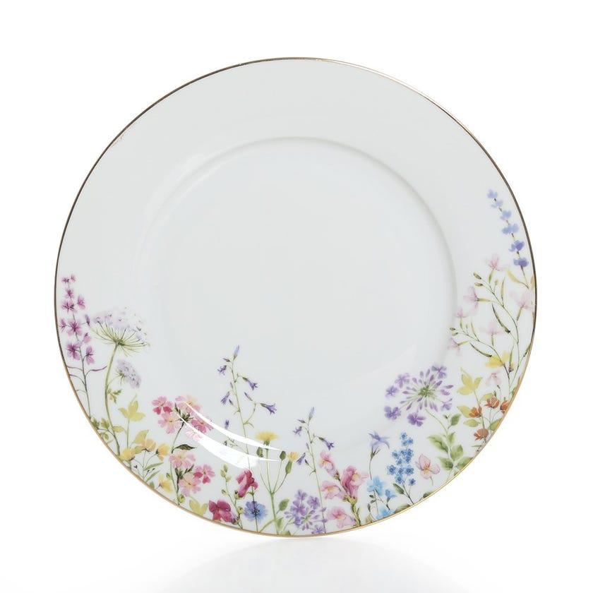 Porcelain Dinner Plate, Multicolour - 26.5 cms