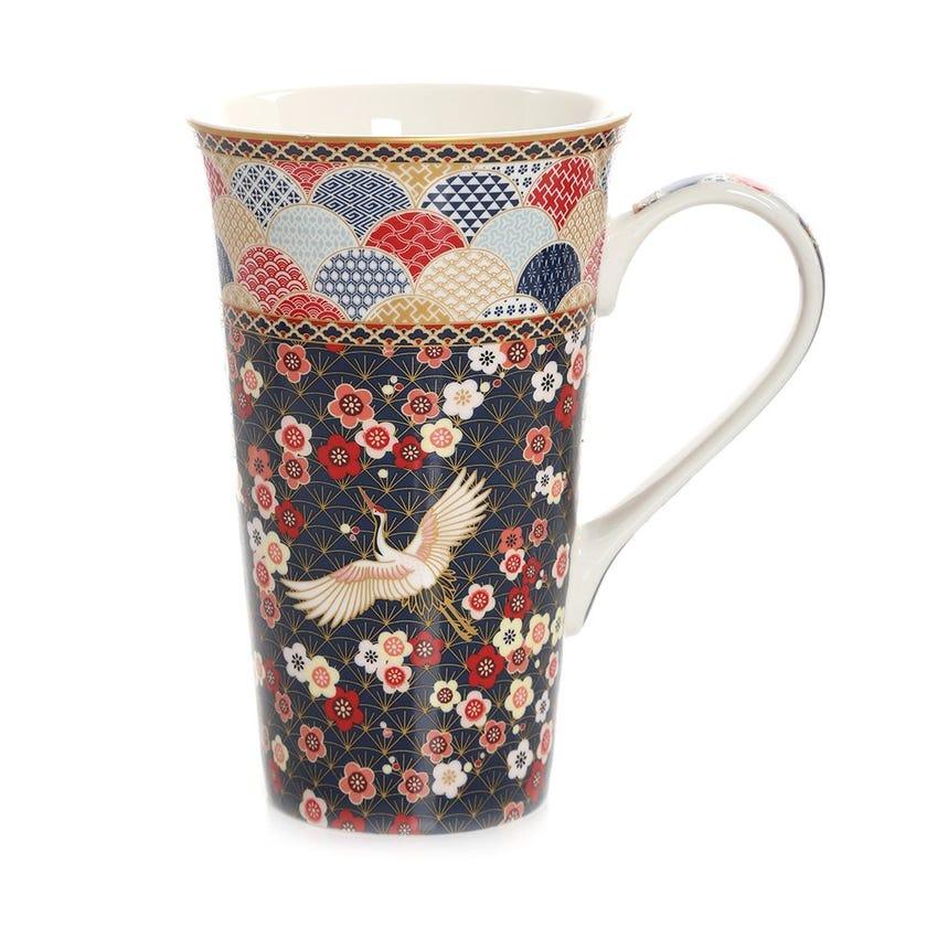 Okinawa Porcelain Mug, Multicolour – 600ml
