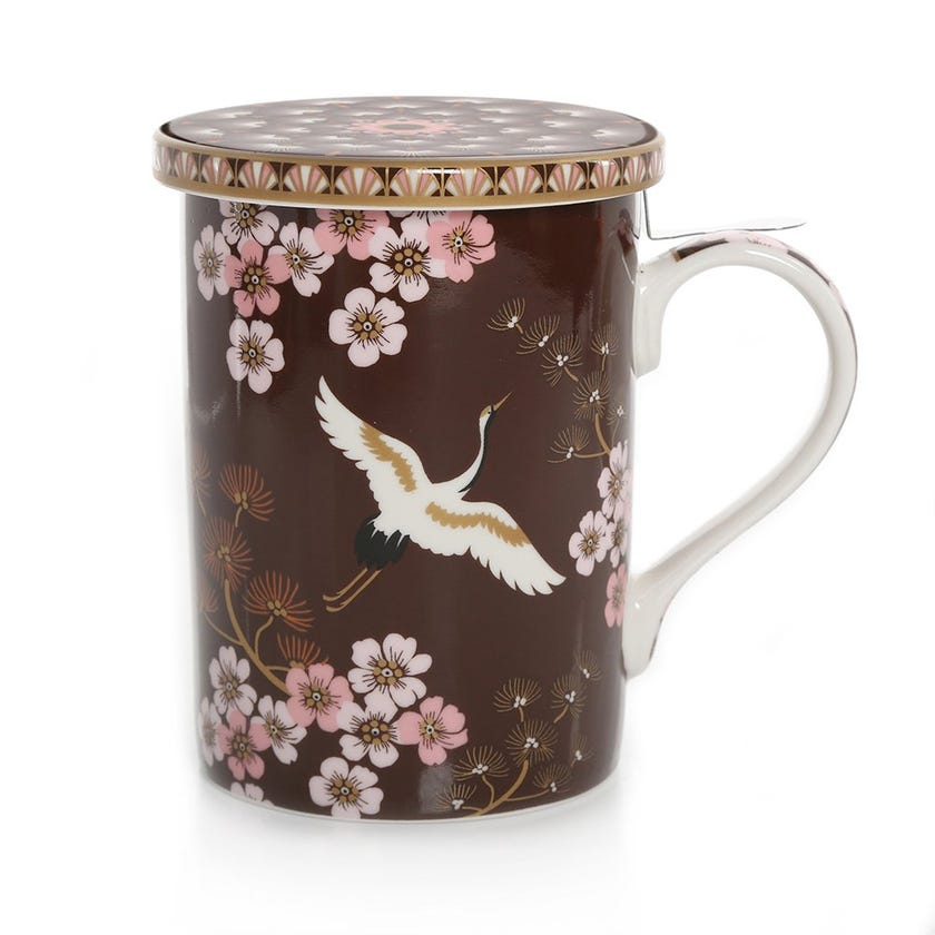 Oriental Atmosphere Infuser Mug, Multicolour – 350ml