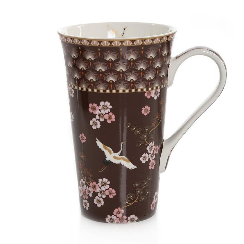 Oriental Atmosphere Porcelain Mug, Multicolour – 600ml