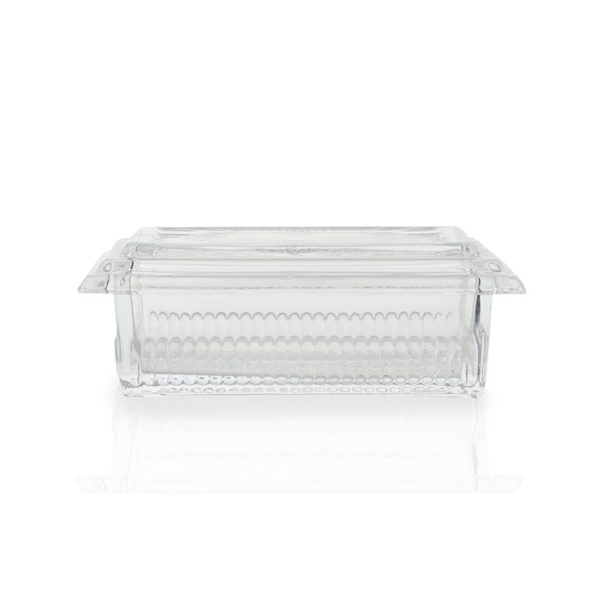 Butter Dish Large - Clear