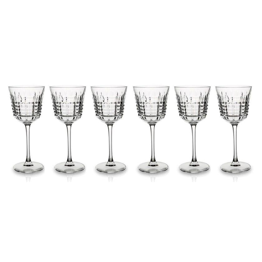 Eclat Rendezvous Stem Glass Set - 6 Pieces, Transparent, 20 cms