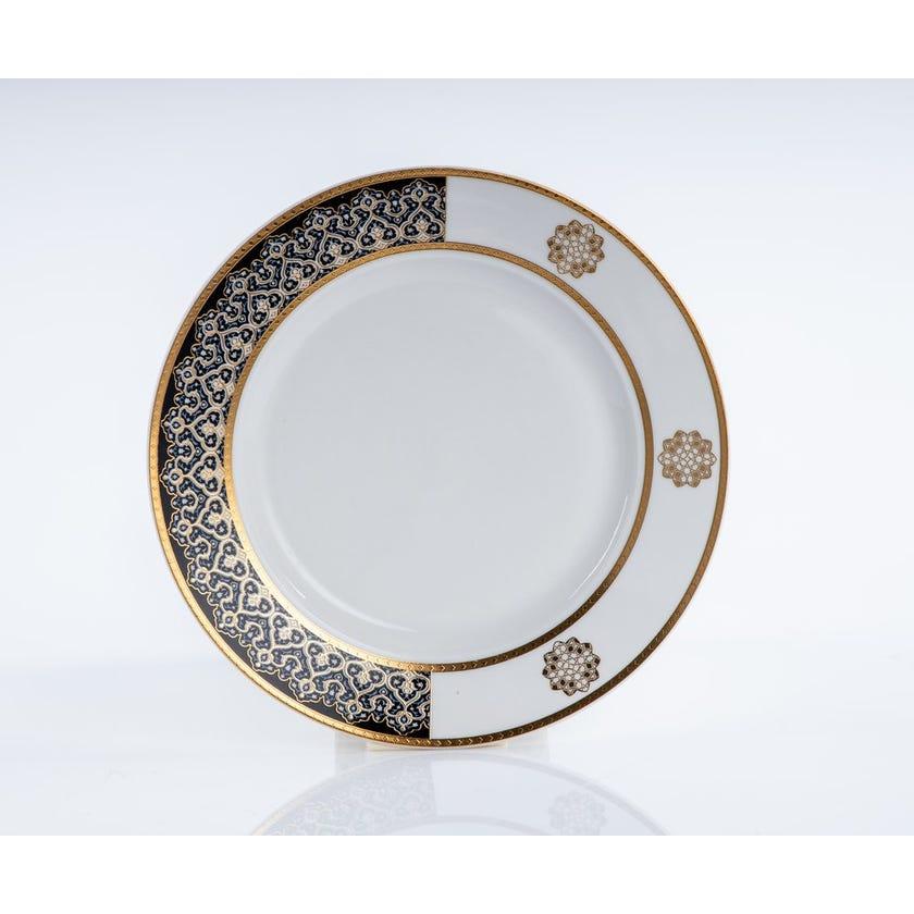Zurina Side Plate, White