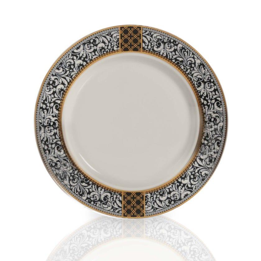 Samia Side Plate, White