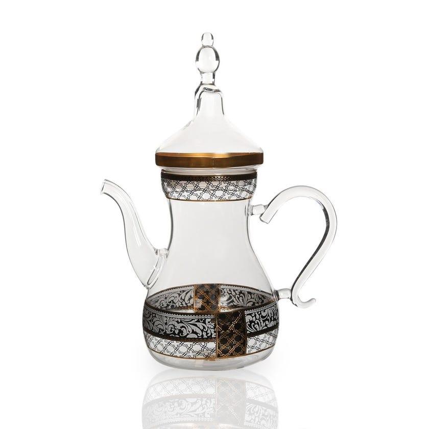 Samia Glass Teapot, Clear