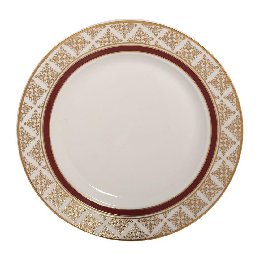 Nayeli Side Plate, White