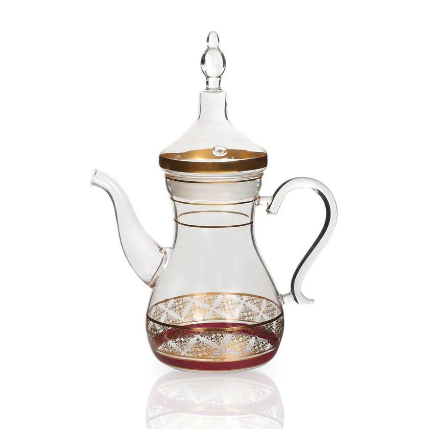 Nayeli Glass Teapot, Clear
