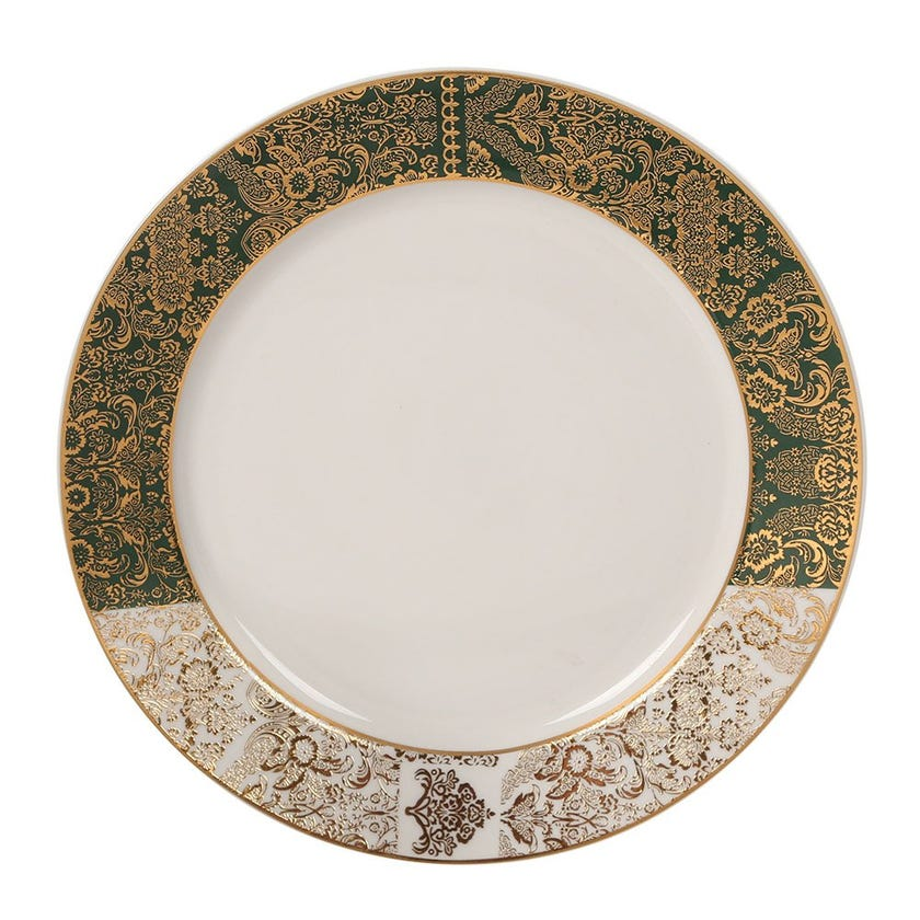 Nimah Dinner Plate, White