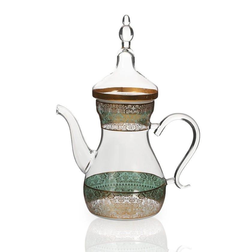 Nimah Glass Teapot, Clear