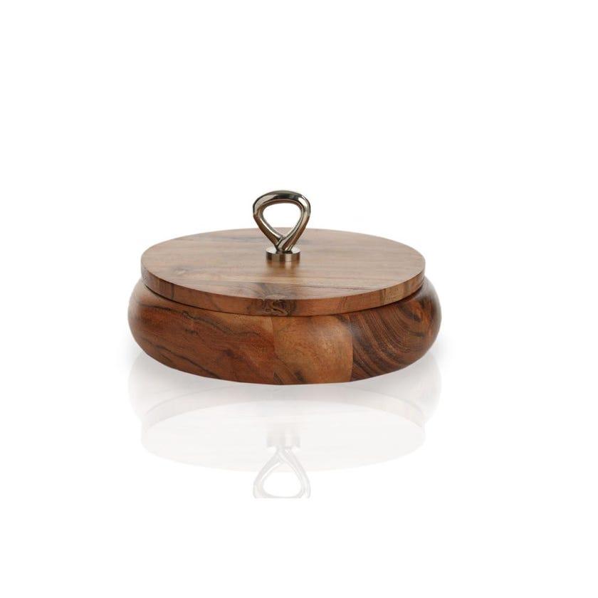 Wooden Round Box, Large