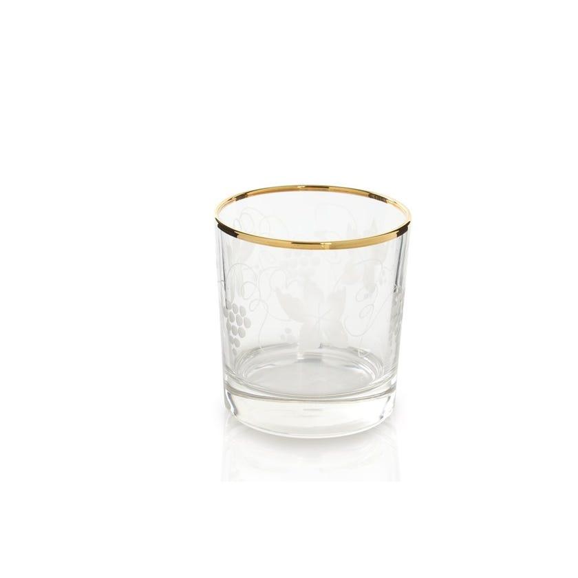 Fashion Bianco Glass - Set of 6